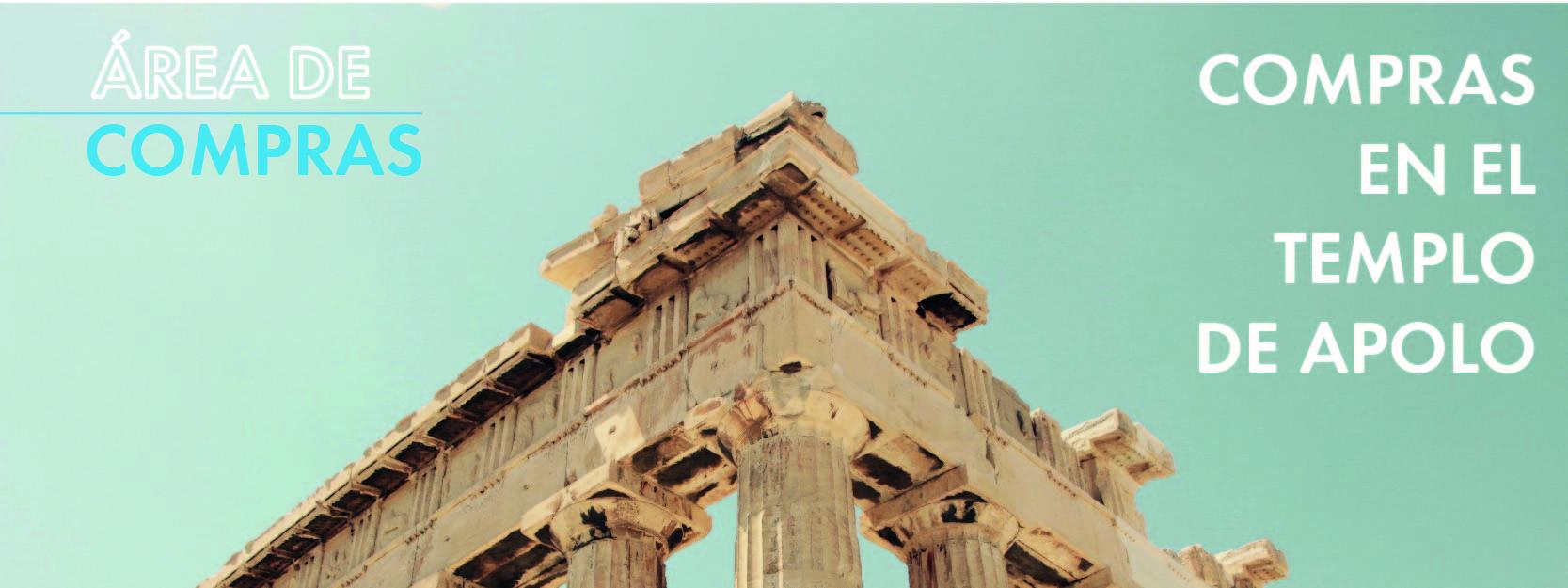 Compras en el templo de Apolo